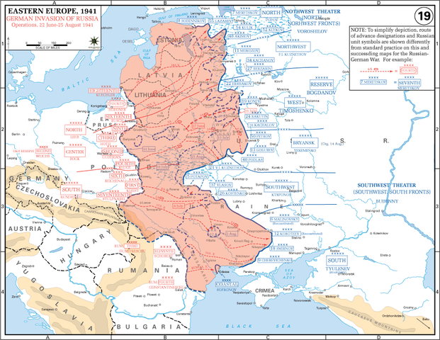 Opening phase of Operation Barbarossa, June–August 1941
