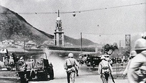 Fall of Hong Kong: Japanese Army assault on Tsim Sha Tsui Station