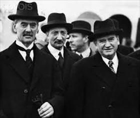 Prime Minister Chamberlain and French Premier Daladier, 1938