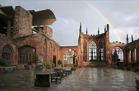 Interior of Coventry Cathedral today
