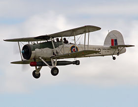Fairey Swordfish with torpedo