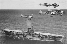 Aircraft carrier HMS Ark Royal