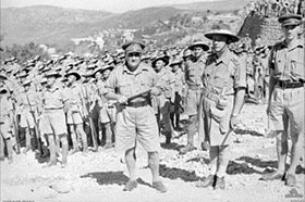 Australian 7th Division east of Beirut, September 1941
