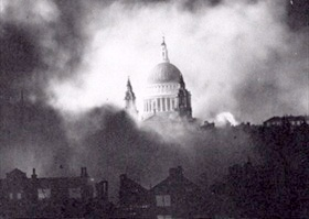 London's St. Paul's Cathedral, December 29, 1940