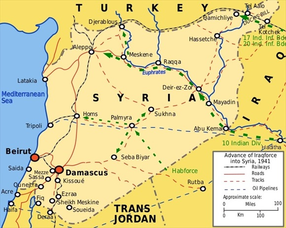 Operation Exporter: Syria-Lebanon Campaign, June 8–July 14, 1941