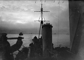 Arctic convoy duty, December 1941