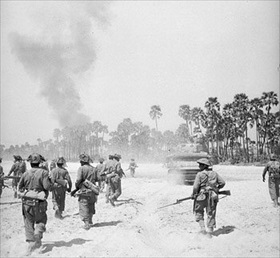 Burma Campaign: British Indian Army, Meiktila, March 1945
