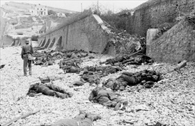 Operation Jubilee: Blue Beach near Puys, Dieppe, August 19, 1942