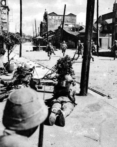 Changsha street battle