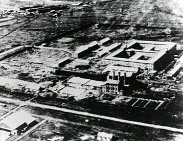 Unit 731 head­quarters in Manchukuo