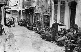 Captured Germans on Crete, May 1941