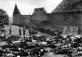 Massacred men and boys of Lidice, June 10, 1942