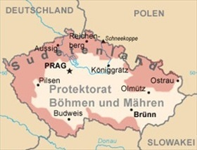 Sudetenland in relation to Czech Republic