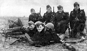 Danish troops, April 9, 1940