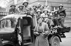 Danish resistance group: BOPA (Borgerlige Partisaner)
