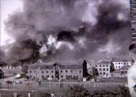 BOPA-sabotaged factory, June 22, 1944