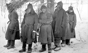 Finland's Winter War: Wounded Soviet soldiers