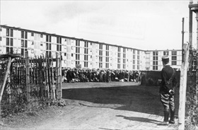 Chasse aux Juifs (Hunt for Jews): Drancy internment camp, Paris, August 1941