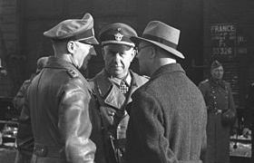 German officials at Marseille's Gare d'Arenc, January 24, 1943