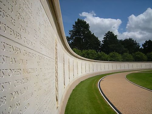 Garden of the Missing, Normandy American Cemetery and Memorial