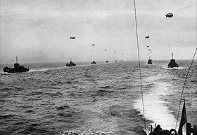 D-Day convoy, English Channel