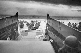 """Into the Jaws of Death,"" Omaha Beach, June 6, 1944"