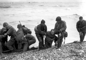 Omaha Beach survivors