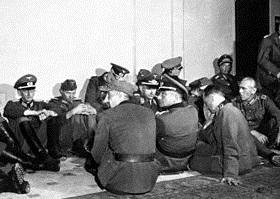 Captured German officers, Paris, August 26, 1944