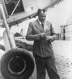 Antoine de Saint-Exupéry (1900–1944), Toulouse, France, 1933
