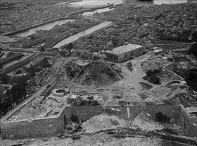 Fort du Roule, Cherbourg, after destruction