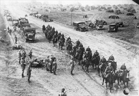 German cavalry and motorized units, Poland 1939