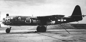 Arado Ar 234B with U.S. markings