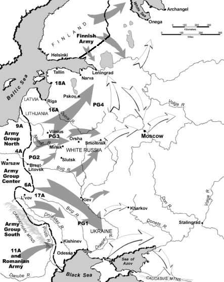 Barbarossa, June–December 1941