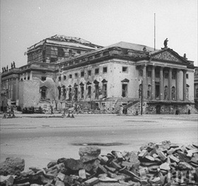 Berlin Opera House on Unter den Linden