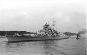Bismarck, Hamburg, 1940
