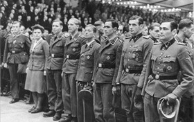 Recognition of heroes, Berlin, October 3, 1943