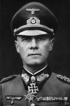 Wartime photo Erwin Rommel, 1891–1944