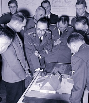 Generalplan Ost: High-ranking visitors, March 20, 1941