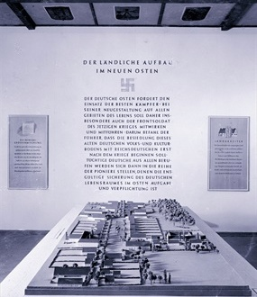 """Generalplan Ost: """"Planning and Construction in the East"""" exhibition, March 1941"""