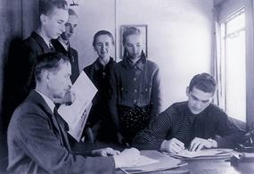 Generalplan Ost: Settler applicant family Gliebe, 1941