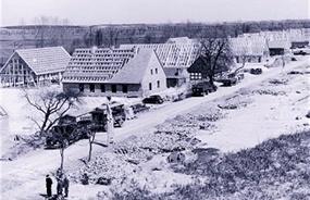Generalplan Ost: Construction of Resettlement Village Warthegau