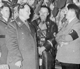 Goering, Himmler, Hitler