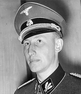 Reinhard Heydrich, head of Reich Security Main Office, 1940