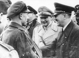 Last days of the Third Reich: Adolf Hitler and Hermann Goering on Eastern Front, April 1945