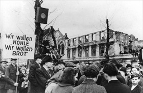 Hungerwinter Demonstration, Germany 1947