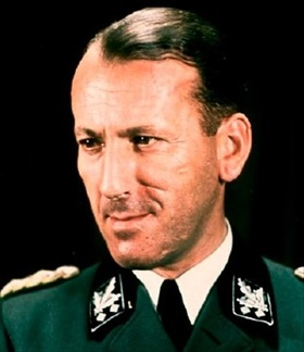 Ernst Kaltenbrunner, Heydrich's successor at the RSHA