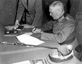 German capitulation, Berlin, May 8, 1945