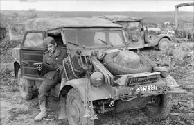 Kübelwagen, Eastern Front, June 1943