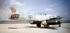 Captured Messerschmitt Me 262