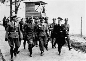 Himmler at Mauthausen, Austria, April 1941